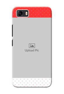 Asus Zenfone 3s Max personalised phone covers: Red Pattern Design