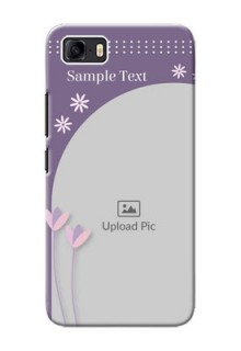 Asus Zenfone 3s Max Phone covers for girls: lavender flowers design
