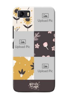 Asus Zenfone 3s Max phone cases online: 3 Images with Floral Design