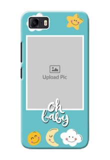 Asus Zenfone 3s Max Personalised Phone Cases: Smiley Kids Stars Design