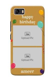 Asus Zenfone 3s Max Phone Covers: Image Holder with Birthday Celebrations Design