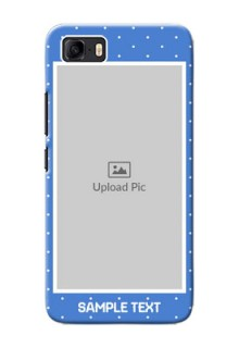Asus Zenfone 3s Max Personalised Phone Cases: polka dots design