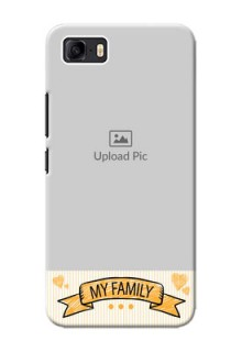 Asus Zenfone 3s Max Personalized Mobile Cases: My Family Design
