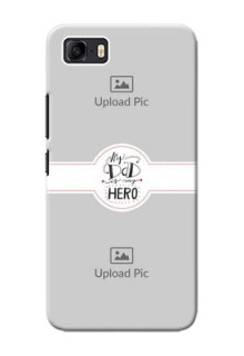 Asus Zenfone 3s Max custom mobile phone cases: My Dad Hero Design