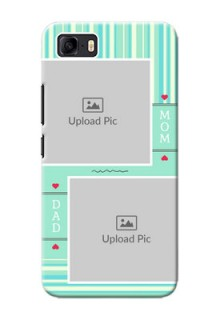 Asus Zenfone 3s Max custom mobile phone covers: Mom & Dad Pic Design
