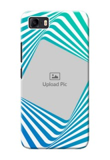 Asus Zenfone 3s Max Personalised Mobile Covers: Abstract Spiral Design