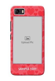 Asus Zenfone 3s Max Mobile Back Covers: with Red Heart Symbols Design