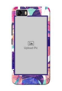 Asus Zenfone 3s Max Personalised Phone Cases: Abstract Floral Design