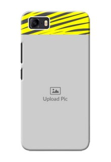 Asus Zenfone 3s Max Personalised mobile covers: Yellow Abstract Design