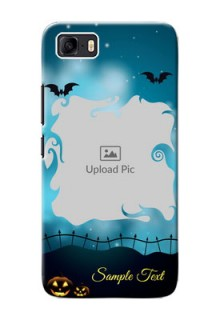 Asus Zenfone 3s Max Personalised Phone Cases: Halloween frame design