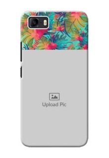 Asus Zenfone 3s Max Personalized Phone Cases: Watercolor Floral Design