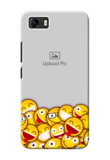 Asus Zenfone 3s Max Custom Phone Cases with Smiley Emoji Design