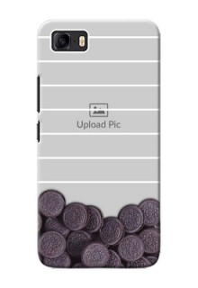 Asus Zenfone 3s Max Custom Mobile Covers with Oreo Biscuit Design