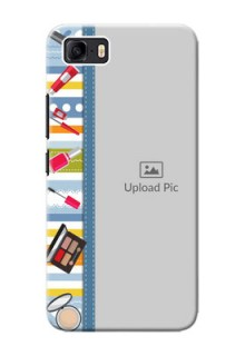 Asus Zenfone 3s Max Personalized Mobile Cases: Makeup Icons Design