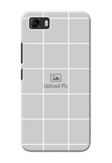 Asus Zenfone 3s Max personalised phone covers with white box pattern