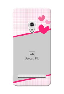 Asus ZenFone 5 Pink Design With Pattern Mobile Cover Design