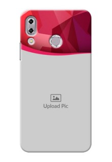 Asus Zenfone 5Z ZS620KL Red Abstract Mobile Case Design