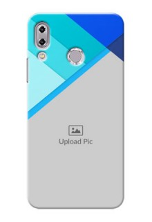 Asus Zenfone 5Z ZS620KL Blue Abstract Mobile Cover Design