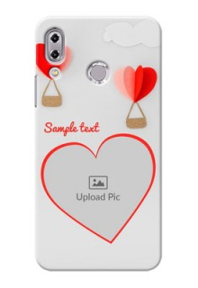 Asus Zenfone 5Z ZS620KL Love Abstract Mobile Case Design