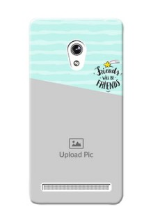 Asus ZenFone 6 2 image holder with friends icon Design