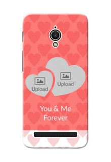 Asus ZenFone Go ZC500TG Couples Picture Upload Mobile Cover Design