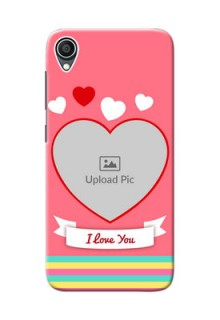 Zenfone Lite L1 Personalised mobile covers: Love Doodle Design