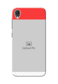 Zenfone Lite L1 personalised phone covers: Red Pattern Design