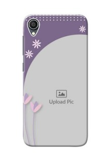 Zenfone Lite L1 Phone covers for girls: lavender flowers design