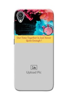 Zenfone Lite L1 Mobile Cases: Quote with Acrylic Painting Design