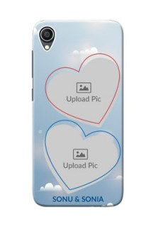 Zenfone Lite L1 Phone Cases: Blue Color Couple Design