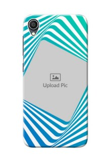 Zenfone Lite L1 Personalised Mobile Covers: Abstract Spiral Design