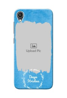 Zenfone Lite L1 custom mobile cases: Blue Color Vintage Design