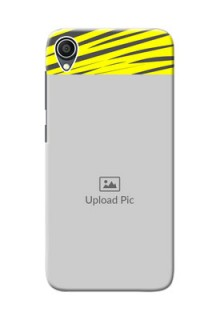 Zenfone Lite L1 Personalised mobile covers: Yellow Abstract Design