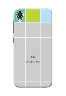 Zenfone Lite L1 personalised phone covers with white box pattern