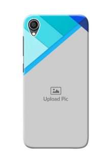 Zenfone Live L1 Phone Cases Online: Blue Abstract Cover Design