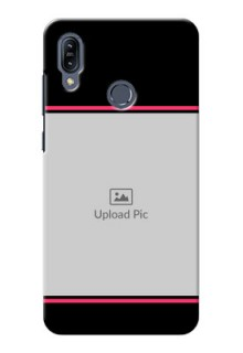 Asus Zenfone Max M2 Mobile Covers With Add Text Design