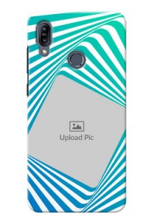 Asus Zenfone Max M2 Personalised Mobile Covers: Abstract Spiral Design