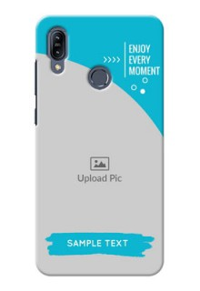 Asus Zenfone Max M2 Personalized Phone Covers: Happy Moment Design