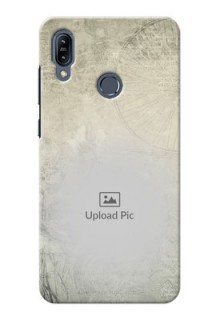 Asus Zenfone Max M2 custom mobile back covers with vintage design