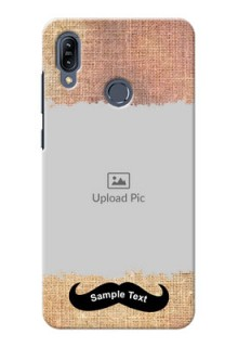 Asus Zenfone Max M2 Mobile Back Covers Online with Texture Design