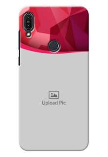 Asus Zenfone Max Pro M1 Red Abstract Mobile Case Design