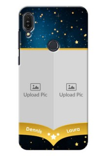 Asus Zenfone Max Pro M1 2 image holder with galaxy backdrop and stars  Design