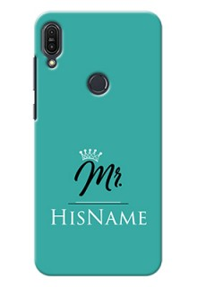 Zenfone Max Pro M1 Custom Phone Case Mr with Name