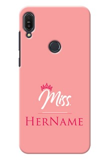 Zenfone Max Pro M1 Custom Phone Case Mrs with Name