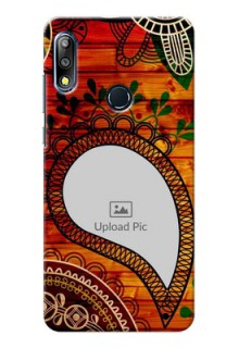 Zenfone Max Pro M2 custom mobile cases: Abstract Colorful Design