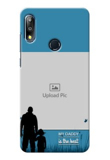 Zenfone Max Pro M2 Personalized Mobile Covers: best dad design
