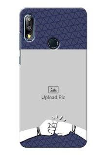 Zenfone Max Pro M2 Mobile Covers Online with Best Friends Design