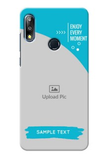 Zenfone Max Pro M2 Personalized Phone Covers: Happy Moment Design