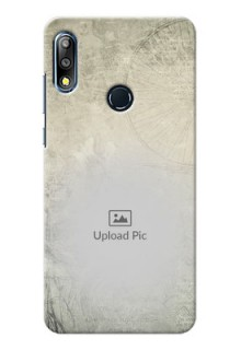 Zenfone Max Pro M2 custom mobile back covers with vintage design