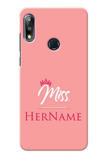 Zenfone Max Pro M2 Custom Phone Case Mrs with Name